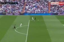 گل اول رئال بتیس به رئال مادرید توسط لورن